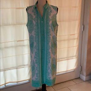 3/$20 limited mint shirt dress